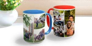 eStuffz Personalized Own Photo Print Ceramic Coffee Mug Cup