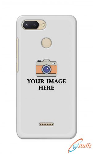 For Xiaomi Redmi 6 Customized Personalized Mobile Case Back Cover Pouch