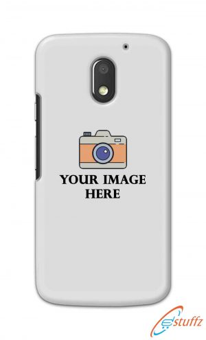 For Motorola Moto E3 Power Customized Personalized Mobile Case Back Cover Pouch