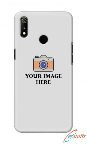 For Realme 3 Customized Personalized Mobile Case Back Cover Pouch