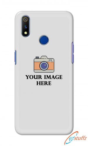 For Realme 3i Customized Personalized Mobile Case Back Cover Pouch