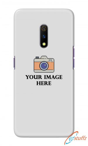 For Realme X Customized Personalized Mobile Case Back Cover Pouch