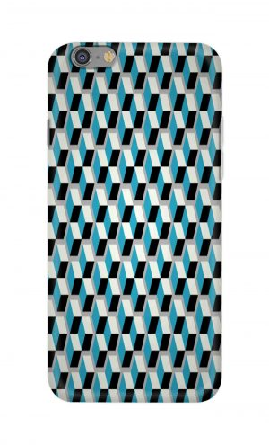 For Apple iPhone 6 6s Printed Mobile Case Back Cover Pouch (Diamonds Pattern)