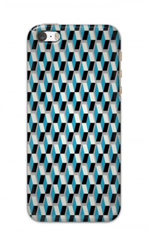For Apple iPhone 5c Printed Mobile Case Back Cover Pouch (Diamonds Pattern)