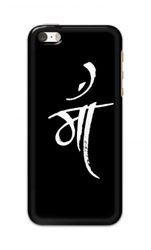 For Apple iPhone 5c Printed Mobile Case Back Cover Pouch (Maa Mother)