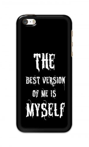 For Apple iPhone 5c Printed Mobile Case Back Cover Pouch (The Best Version Of Me)