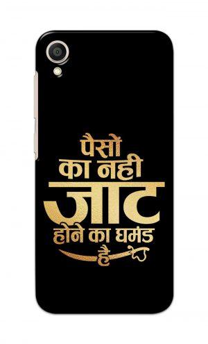 For Asus ZenFone Lite L1 Printed Mobile Case Back Cover Pouch (Paison Ka Nahi Jaat Hone Ka Ghamand Hai)
