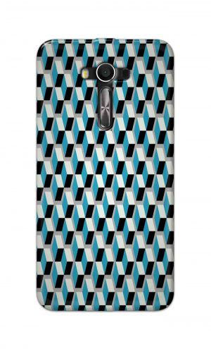 For Asus Zenfone 2 Laser ZE550KL Printed Mobile Case Back Cover Pouch (Diamonds Pattern)