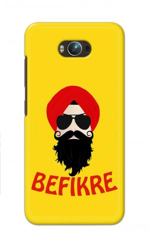For Asus Zenfone Max Printed Mobile Case Back Cover Pouch (Sardar Ji Befikre)