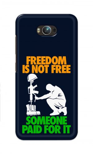 For Asus Zenfone Max Printed Mobile Case Back Cover Pouch (Freedom Is Not Free)