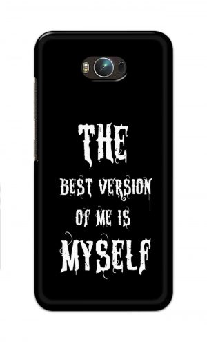 For Asus Zenfone Max Printed Mobile Case Back Cover Pouch (The Best Version Of Me)
