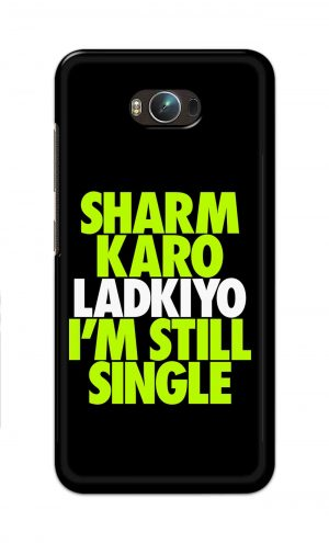 For Asus Zenfone Max Printed Mobile Case Back Cover Pouch (Sharm Karo Ladkiyon)