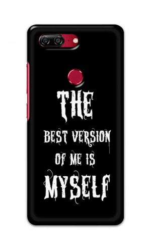 For Gionee M7 Printed Mobile Case Back Cover Pouch (The Best Version Of Me)
