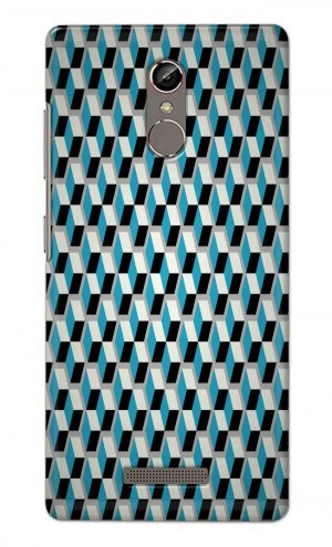 For Gionee S6S Printed Mobile Case Back Cover Pouch (Diamonds Pattern)