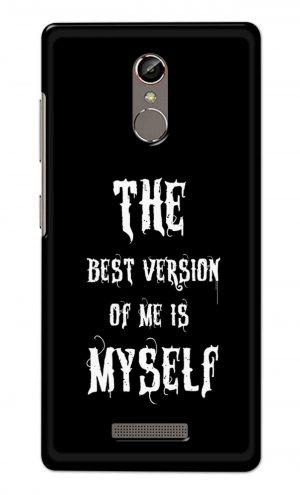 For Gionee S6S Printed Mobile Case Back Cover Pouch (The Best Version Of Me)