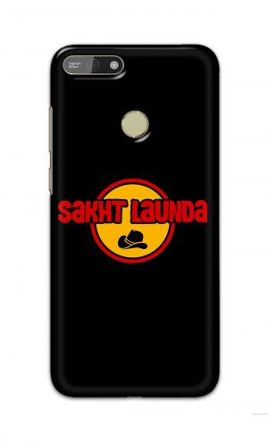 For Huawei Honor 7A Printed Mobile Case Back Cover Pouch (Sakht Launda)