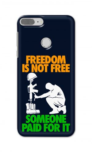 For Huawei Honor 9 Lite Printed Mobile Case Back Cover Pouch (Freedom Is Not Free)