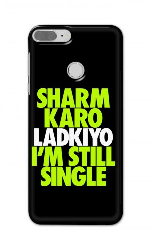 For Huawei Honor 9 Lite Printed Mobile Case Back Cover Pouch (Sharm Karo Ladkiyon)