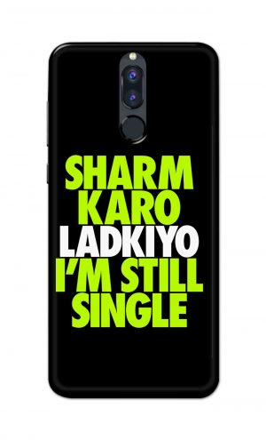 For Huawei Honor 9i Printed Mobile Case Back Cover Pouch (Sharm Karo Ladkiyon)