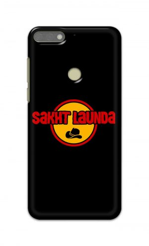 For Huawei Honor 7C Printed Mobile Case Back Cover Pouch (Sakht Launda)