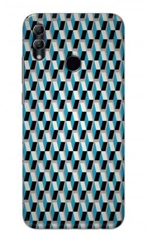 For Huawei Honor 10 Lite Printed Mobile Case Back Cover Pouch (Diamonds Pattern)