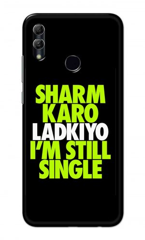 For Huawei Honor 10 Lite Printed Mobile Case Back Cover Pouch (Sharm Karo Ladkiyon)