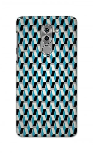 For Huawei Honor 6X Printed Mobile Case Back Cover Pouch (Diamonds Pattern)