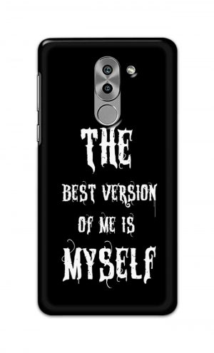 For Huawei Honor 6X Printed Mobile Case Back Cover Pouch (The Best Version Of Me)