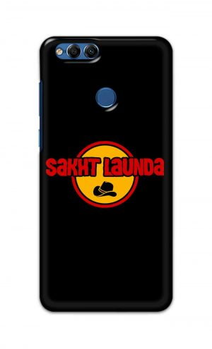 For Huawei Honor 7X Printed Mobile Case Back Cover Pouch (Sakht Launda)