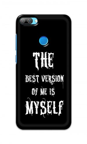 For Huawei Honor 9N Printed Mobile Case Back Cover Pouch (The Best Version Of Me)