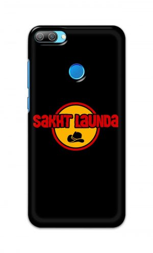For Huawei Honor 9N Printed Mobile Case Back Cover Pouch (Sakht Launda)