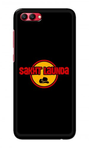 For Huawei Honor V10 Printed Mobile Case Back Cover Pouch (Sakht Launda)
