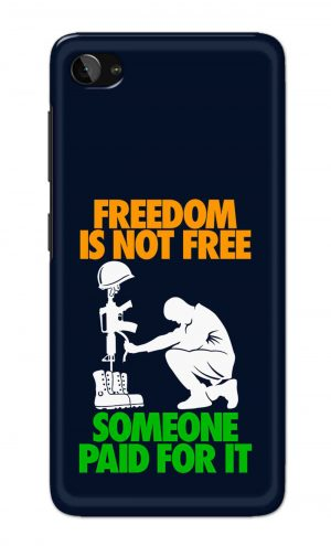 For Lenovo Zuk Z2 Printed Mobile Case Back Cover Pouch (Freedom Is Not Free)