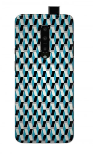 For OnePlus 7 Pro Printed Mobile Case Back Cover Pouch (Diamonds Pattern)