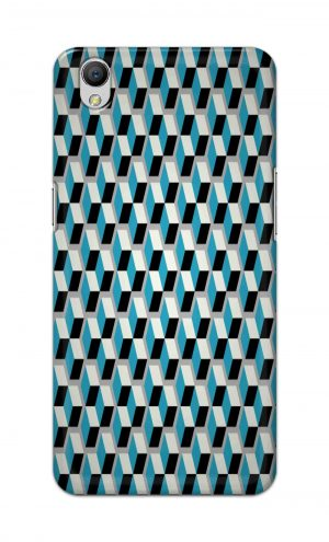 For OppoA37 Printed Mobile Case Back Cover Pouch (Diamonds Pattern)