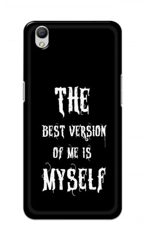 For OppoA37 Printed Mobile Case Back Cover Pouch (The Best Version Of Me)