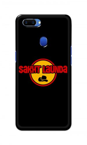 For Oppo A5 Printed Mobile Case Back Cover Pouch (Sakht Launda)