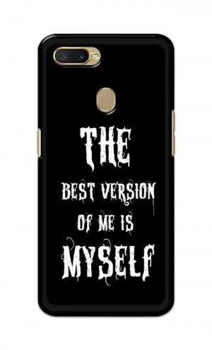 For Oppo A5s Printed Mobile Case Back Cover Pouch (The Best Version Of Me)