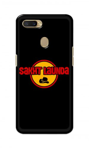 For Oppo A5s Printed Mobile Case Back Cover Pouch (Sakht Launda)