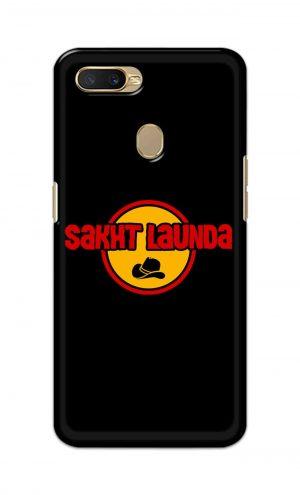For OppoA5 Printed Mobile Case Back Cover Pouch (Sakht Launda)