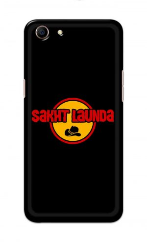 For Oppo A83 Printed Mobile Case Back Cover Pouch (Sakht Launda)