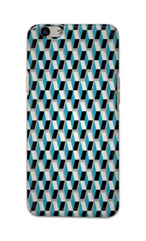 For Oppo F1s Printed Mobile Case Back Cover Pouch (Diamonds Pattern)