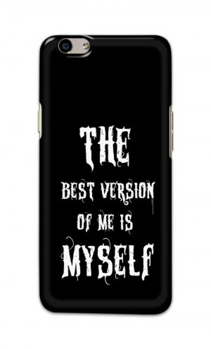 For Oppo F1s Printed Mobile Case Back Cover Pouch (The Best Version Of Me)