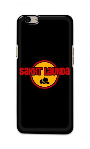For Oppo F1s Printed Mobile Case Back Cover Pouch (Sakht Launda)