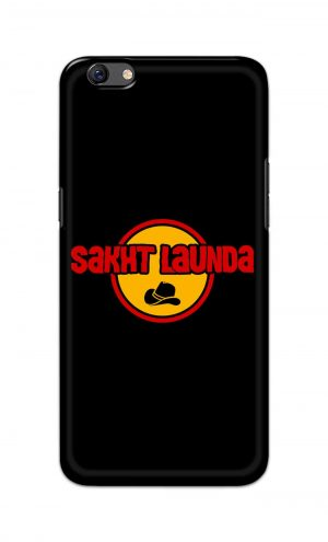 For Oppo F3 Printed Mobile Case Back Cover Pouch (Sakht Launda)