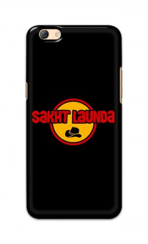 For Oppo F3 Plus Printed Mobile Case Back Cover Pouch (Sakht Launda)