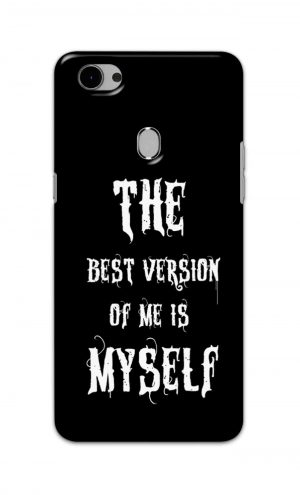 For Oppo F7 Youth Printed Mobile Case Back Cover Pouch (The Best Version Of Me)