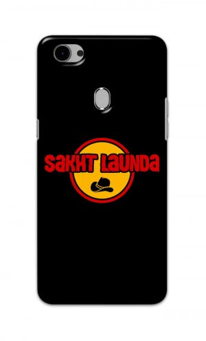 For Oppo F7 Printed Mobile Case Back Cover Pouch (Sakht Launda)