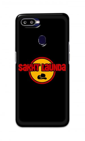 For Oppo F9 F9 Pro Printed Mobile Case Back Cover Pouch (Sakht Launda)