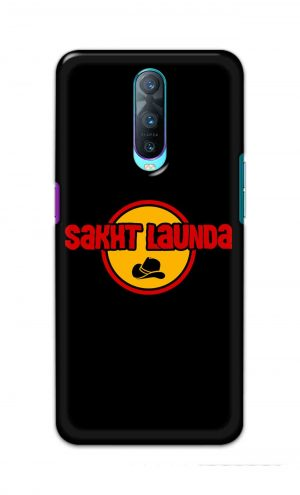 For Oppo R17 Pro Printed Mobile Case Back Cover Pouch (Sakht Launda)
